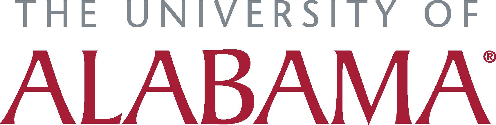 University of Alabama Footer Logo